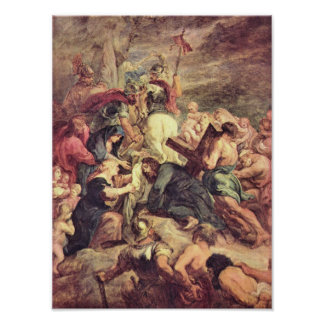 Paul Rubens - Crucifixion of Christ Poster