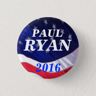 Paul Ryan 2016 1 Inch Round Button