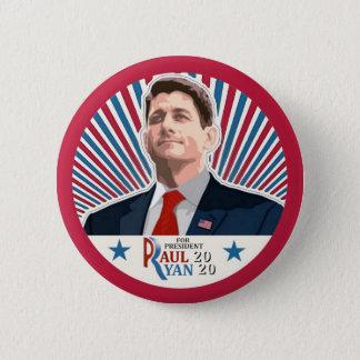 Paul Ryan 2020 2 Inch Round Button