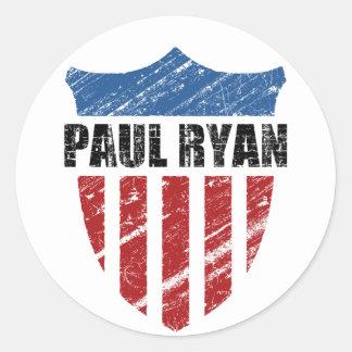 Paul Ryan Classic Round Sticker
