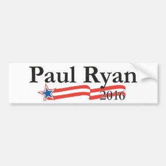 Paul Ryan for President 2016 Bumper Sticker