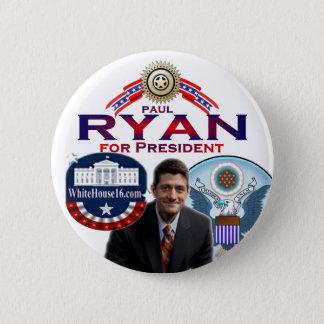 Paul Ryan for President Button