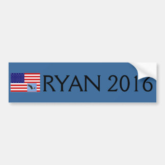 Paul Ryan for president in 2016 bumper sticker