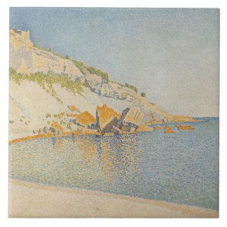 Paul Signac - Cassis, Cap Lombard, Opus 196 Tile
