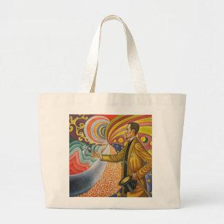 Paul Signac Painting Large Tote Bag