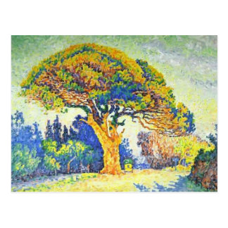 Paul Signac- The Pine Tree at St. Tropez Postcard