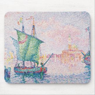 Paul Signac - Venice, The Pink Cloud Mouse Pad