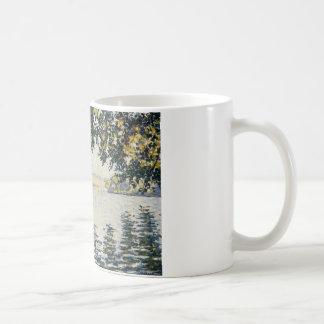Paul Signac - View of the Seine at Herblay Coffee Mug