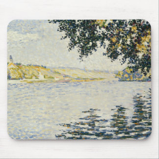 Paul Signac - View of the Seine at Herblay Mouse Pad