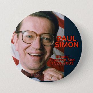 Paul Simon Illinois Favorite Son Button