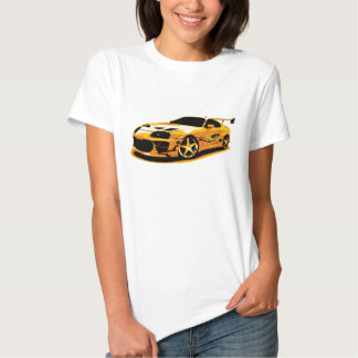 Paul Walker`s Toyota Supra Shirts