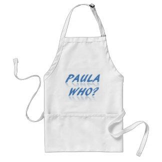 Paula Who? Standard Apron