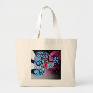 Paula's Cosmic Birthday Party Large Tote Bag