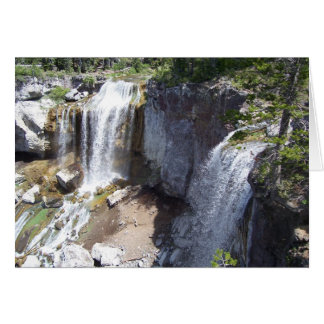 Paulina Creek Falls Card