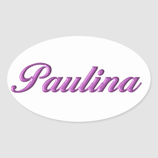 Paulina sticker name