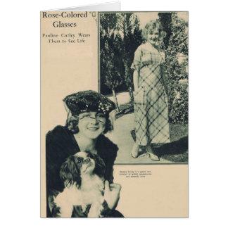 Pauline Curley 1919 Card