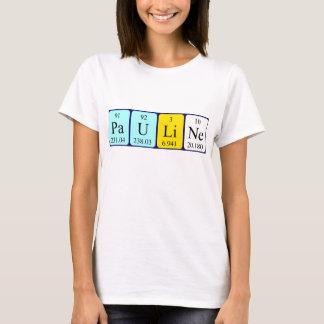 Pauline periodic table name shirt