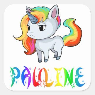 Pauline Unicorn Sticker