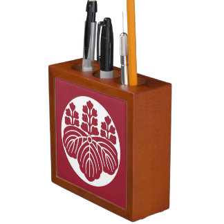 Paulownia with 5&7 blooms in rice cake pencil holder