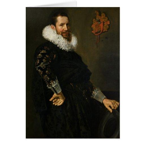 Paulus van Beresteyn  c.1619-20 Card