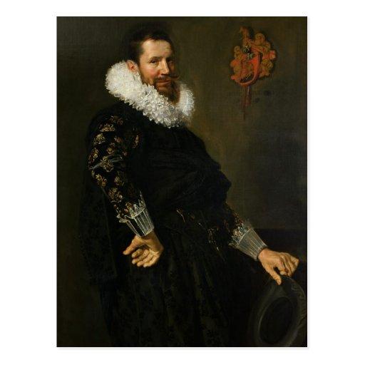 Paulus van Beresteyn  c.1619-20 Postcard