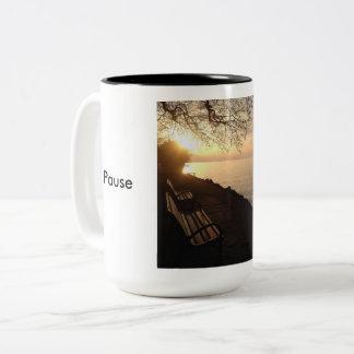Pause and Energize - mug