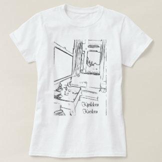 Pause rommet  med teksten kjøkken kroken T-Shirt