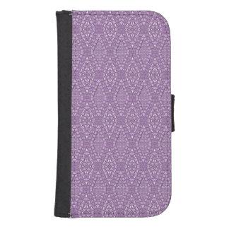 Pave Diamonds Amethyst Samsung Galaxy s4 Wallet