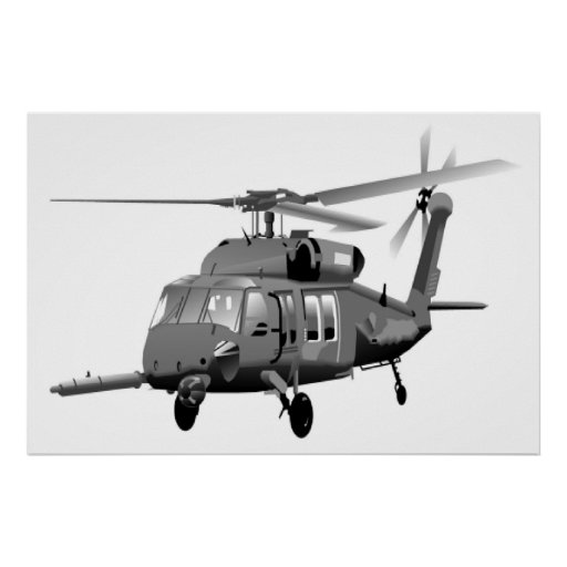 Pave Hawk Helicopter Print