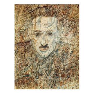 Pavel Filonov- Portrait of Nikolay Putilovsky Postcard