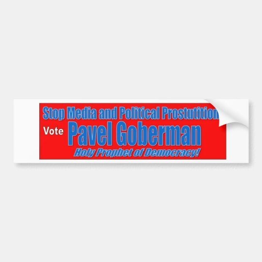 Pavel Goberman Bumper Sticker