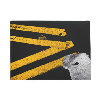 Pavement Road Traffic Marking Lines - Cool - Fun Doormat