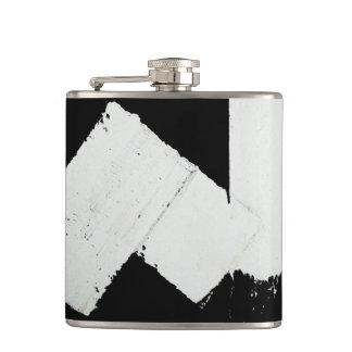 Pavement Road Traffic Marking Lines - Cool - Fun Hip Flask