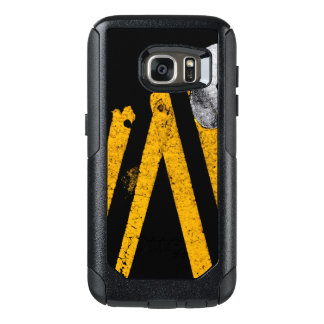 Pavement Road Traffic Marking Lines - Cool - Fun OtterBox Samsung Galaxy S7 Case