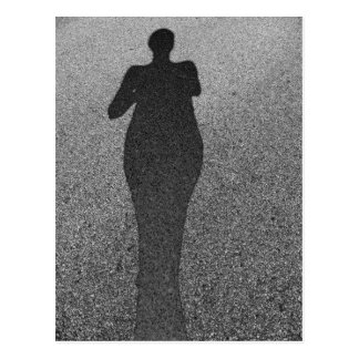 Pavement Shadow by Leslie Peppers Postcard