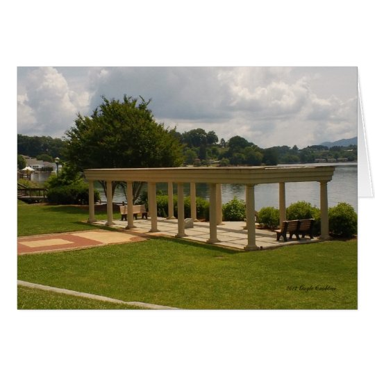 Pavilion at Lake Junaluska Card