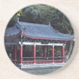 Pavilion, Lake Ronghu, Guilin, China Coaster