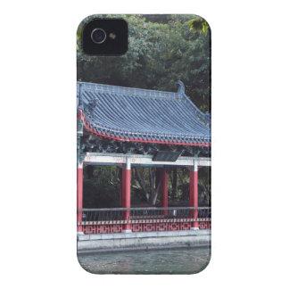 Pavilion, Lake Ronghu, Guilin, China iPhone 4 Cover