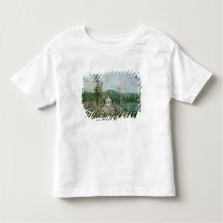 Pavillon chinois dans un jardin anglais, 18ème tee-shirt