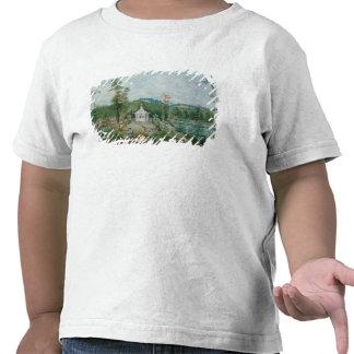 Pavillon chinois dans un jardin anglais, 18ème t-shirts
