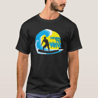 Paving the Wave Stoked Surfer 1 T-Shirt