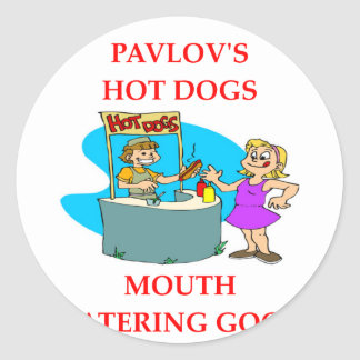 PAVLOV ROUND STICKER