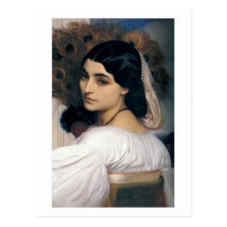 Pavonia - seigneur Frederick Leighton Carte Postale