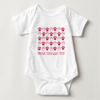 Paw by Paw American Staffordshire Terrier Baby Bodysuit