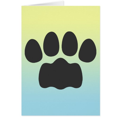 Paw Greeting Cards