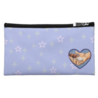 """Paw in Hand"" Cosmetic Bag"