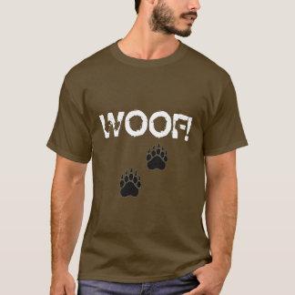 paw, paw, WOOF! T-Shirt