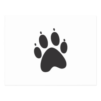 Paw Post Card