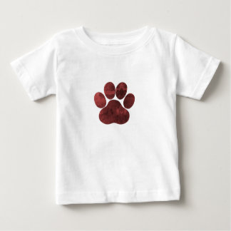 Paw Print Art Baby T-Shirt