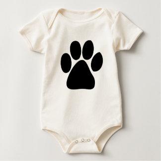 PAW PRINT BABY BABY BODYSUIT